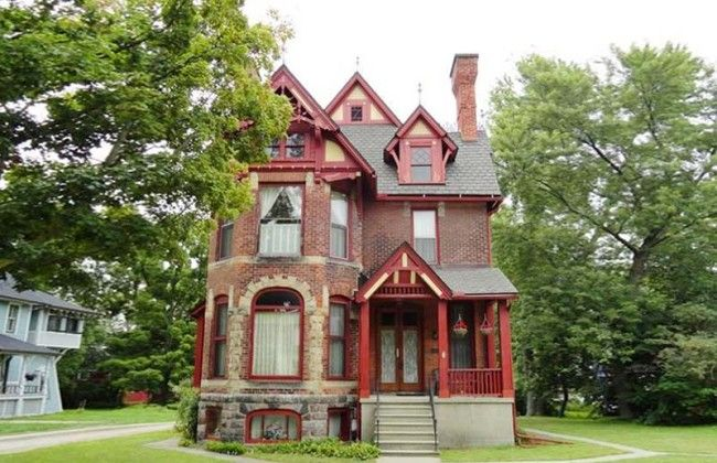 Michigan Property Location Old Houses For Sale And Historic Real Estate Listings Palmer House Old Houses Victorian Buildings