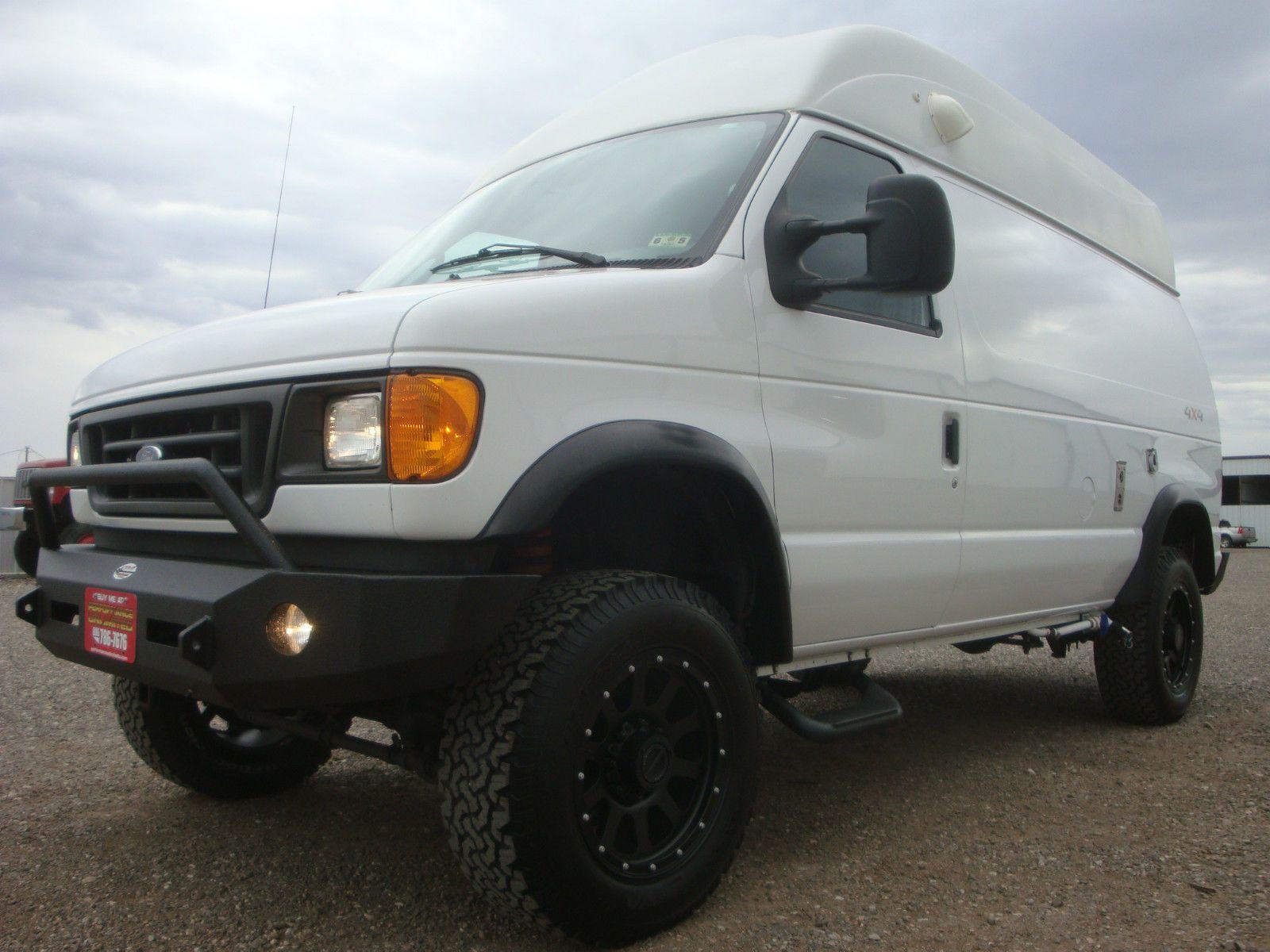Quigley 4x4 Hightop Camper Class B Van 4wd Conversion Sportsmobile