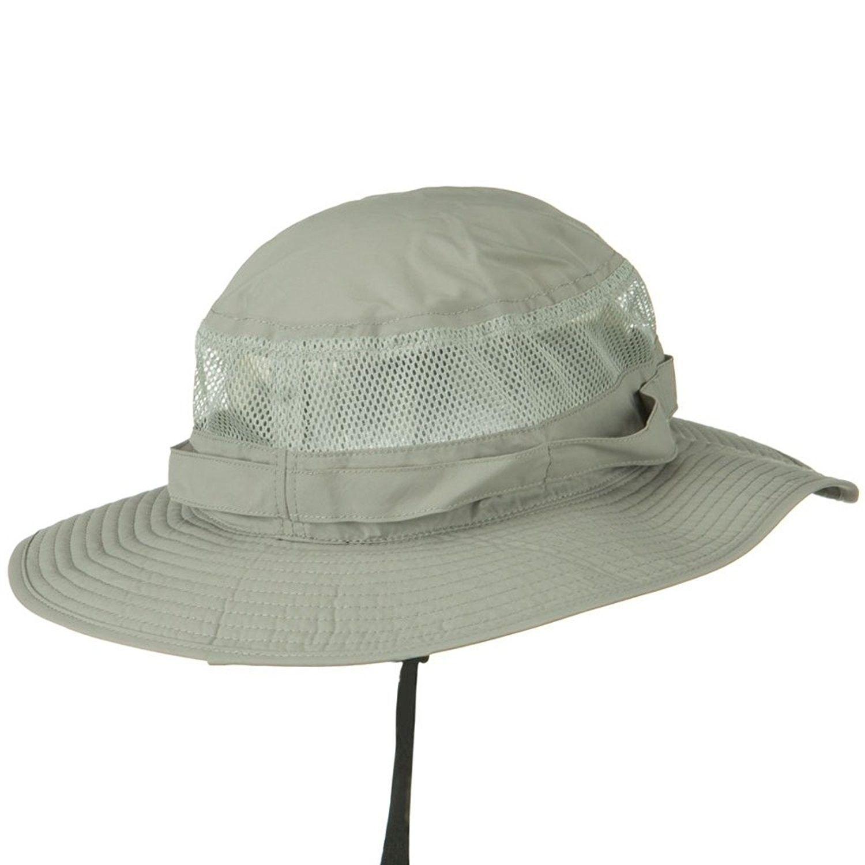 86a749545c3 UV 50+ Side Mesh Talson Bucket Hat - Grey - C411J5ZFWGP in 2018 ...