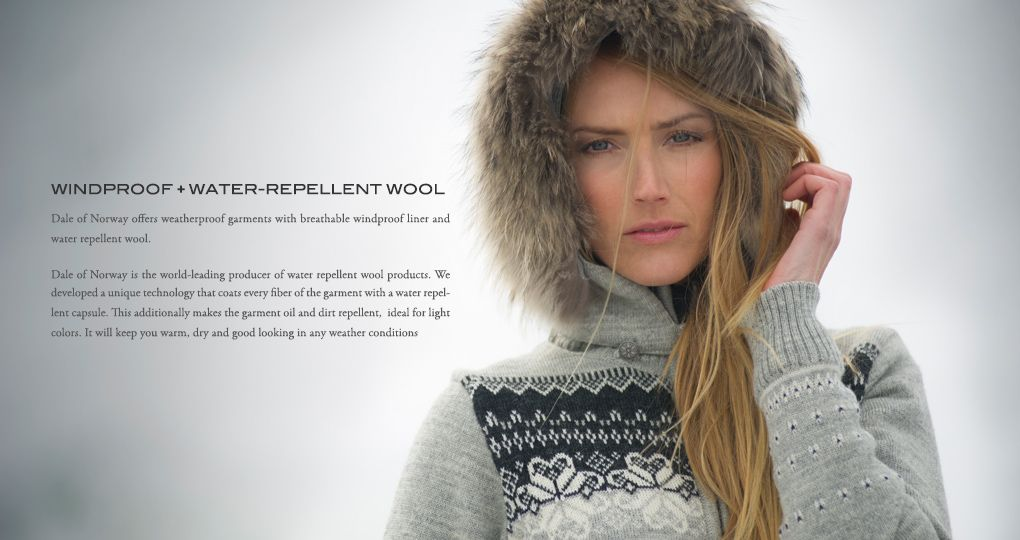 Weatherproof + Water-repellent Wool