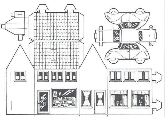 pin von kathleen o 39 brien auf printables templates pinterest haus vorlagen und bastelbogen. Black Bedroom Furniture Sets. Home Design Ideas