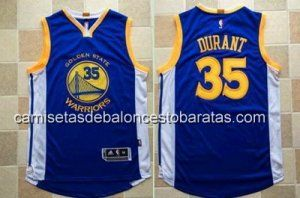 bbde8665f Camiseta Golden State Warriors Kevin Durant  35 AU azul