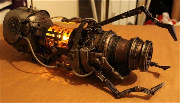 Steampunk Aperture portal gun