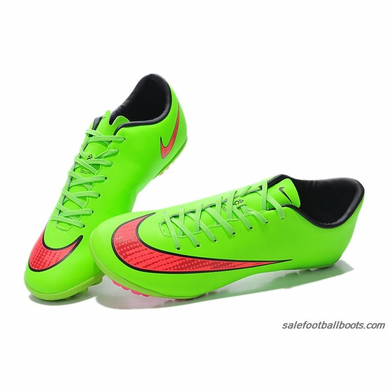 more photos 0472d a0bf1 ... Nike Mercurial Victory V TF Fluorescnet Green Pink 61.99 ...