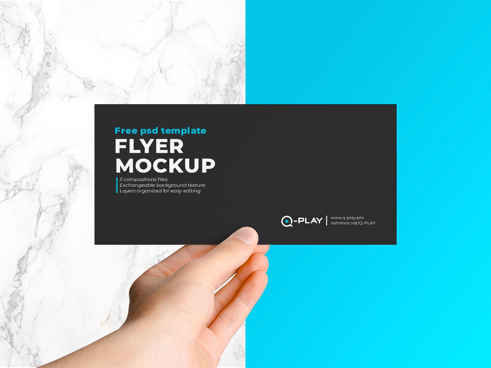 Flyer Mockup In 2021 Flyer Mockup Flyer Business Card Template