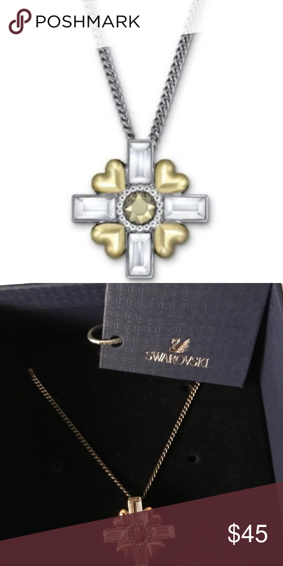 Swarovski R&J Cross Pendant *NWT* 5027504 R&J Cross Pendant, Romeo & Juliet movie clear crystal Swarovski Swarovski Jewelry Necklaces