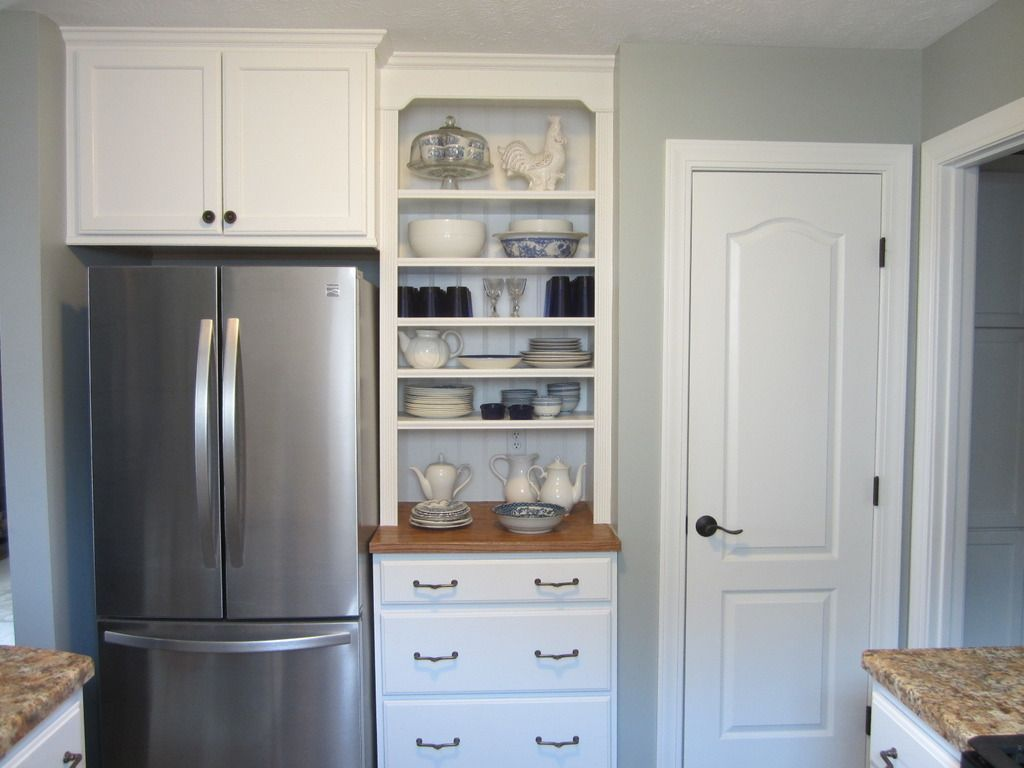 Kitchen Re Do On A Budget Kitchen Re Diy Cabinets Open Shelving