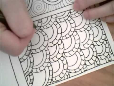 Dangerous Doodle Awesome Overlap Amazing How A Little Shading