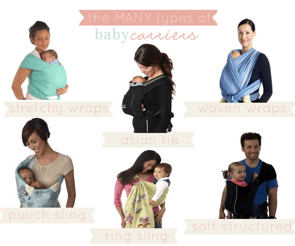 A Breakdown On The Many Types Of Baby Carriers From Mommy Expert