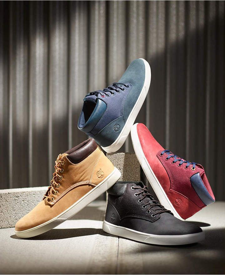 Timberland Men Groveton High Top Sneakers, Men Shoes