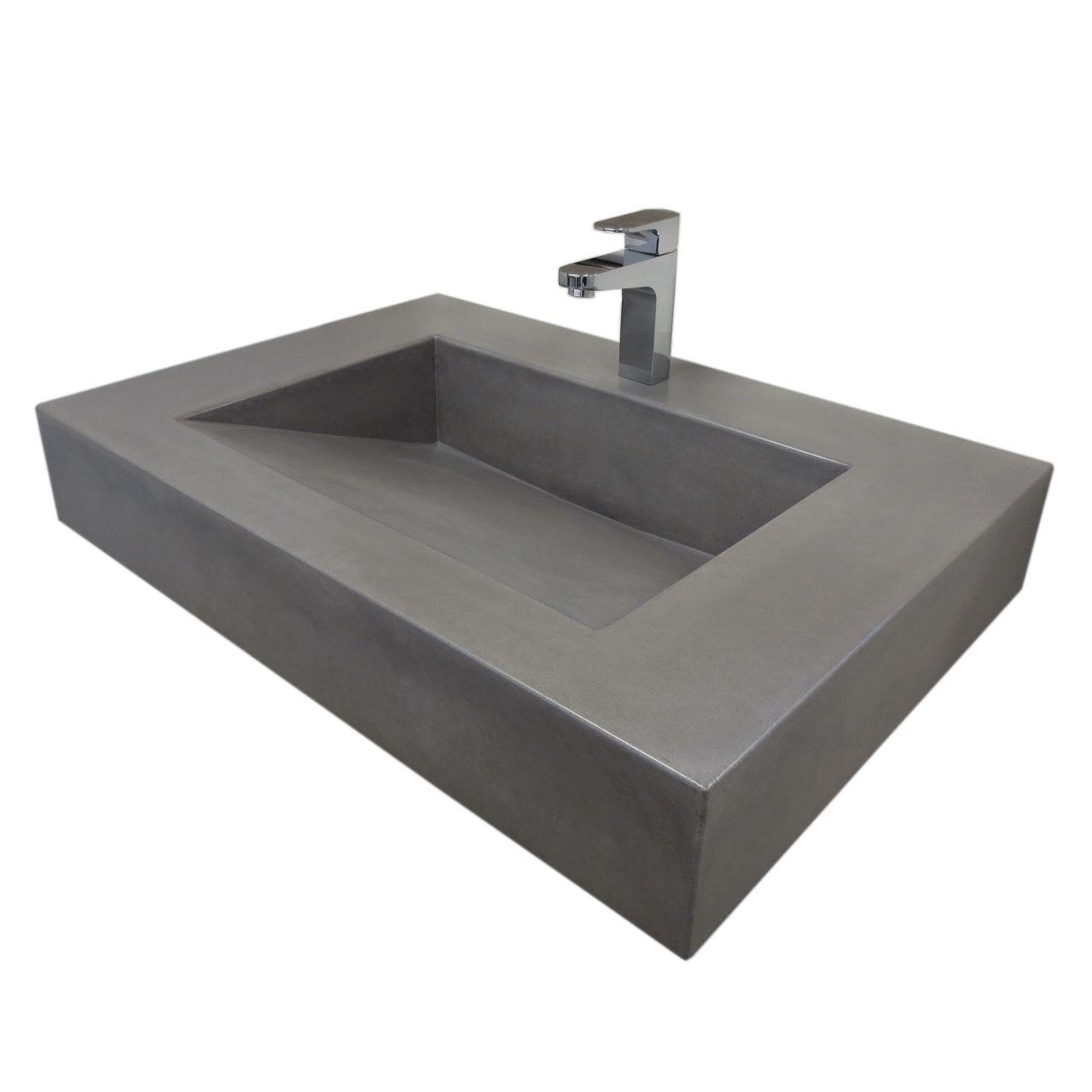 30 Quot Ada Floating Concrete Ramp Sink Drapery Concrete