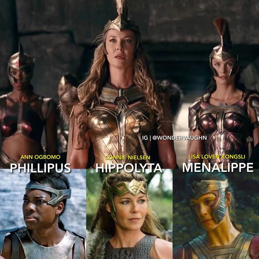 Lieutenant Queen General Annogbomo Cn Connienielsen Lisalovenkongsli The Amazons Of Themyscira In The Dc Univer Filmes Dc Filmes Series E Filmes