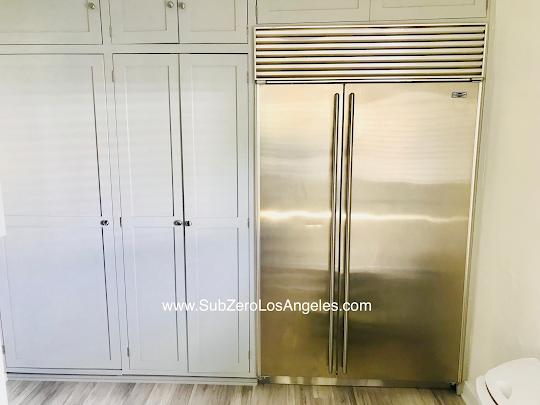 Our Recent Work Sub Zero Refrigerator 632 Model Repaired In