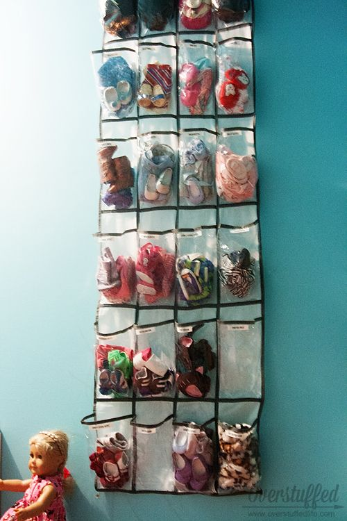 How to Declutter and Organize Toys is part of Girl Clothes Outfits - The process of decluttering and sorting toys, and then making an organized playroom  Plus great storage ideas for American Girl doll clothes