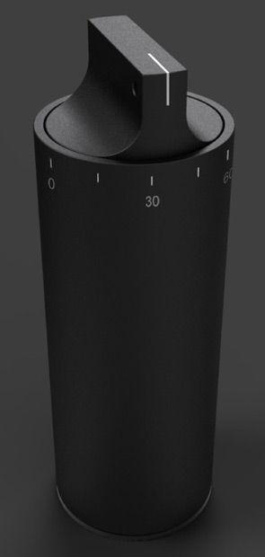 Stiftebox Stiftebecher Container 20ft. Werkhaus Design braun MDF-Steckbausatz