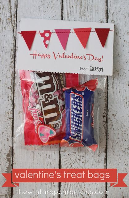 valentine's treat bags I Heart Nap Time | I Heart Nap Time - Easy recipes, DIY crafts, Homemaking