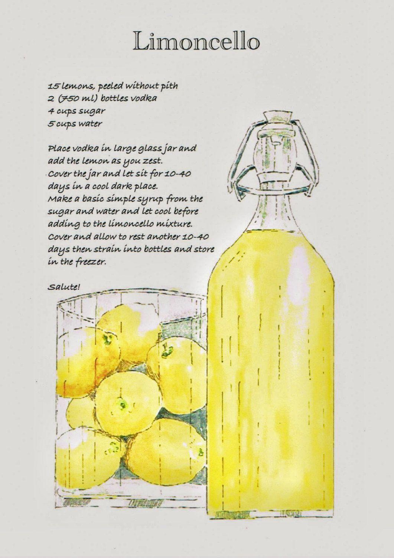 limoncello recept leila
