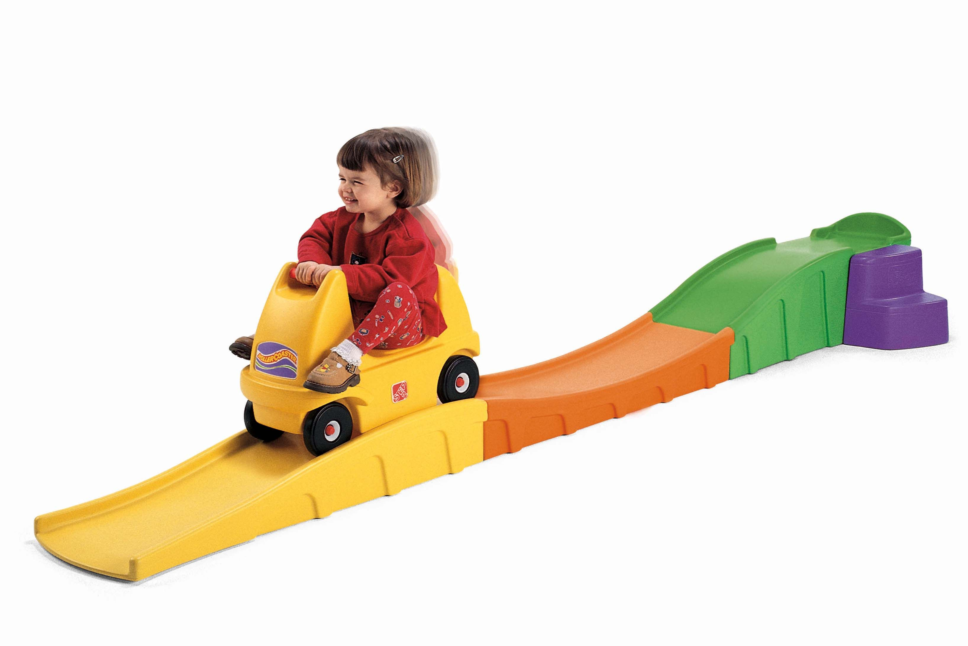 Toys Ride On Toddler Kids Up & Down Roller Coaster