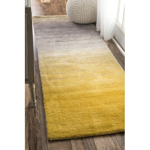 Found it at AllModern - Sion Yellow Area Rug