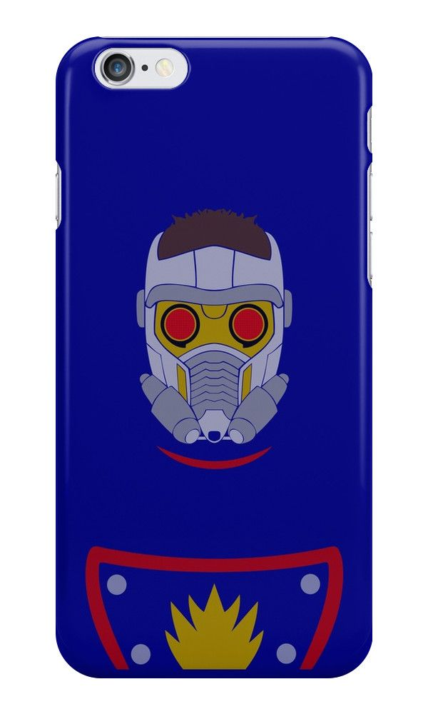"""Starlord Minimalist Art"" iPhone Cases & Skins by adesigngeek 