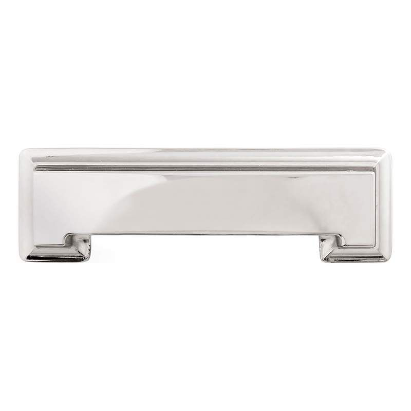 Hickory Hardware Studio 3 Inch Center To Center Cup Cabinet Pull Bright  Nickel Cabinet Hardware Pulls Cup