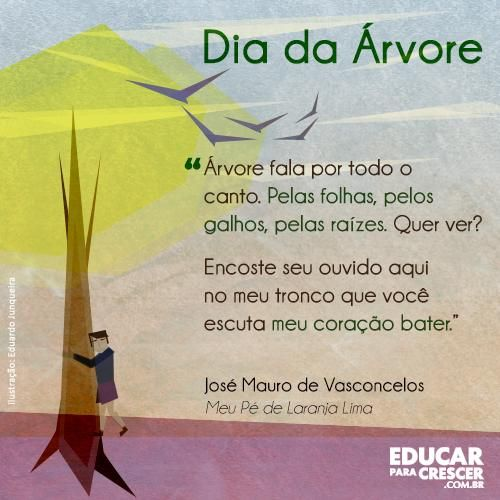 Dia Da árvore Material Interessante Education