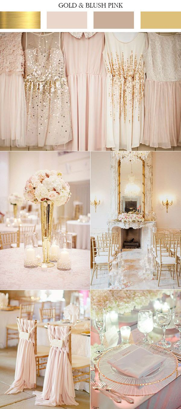 Top 10 Gold Wedding Color Ideas for 2019 Trends  My Style
