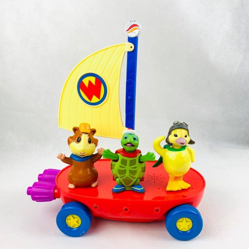 Wonder Pets Talking Light Up Flyboat Includes Characters Ming Ming Linny And Tuck Tested And Works Great Requires 3 A Wonder Pets Pets Action Figures
