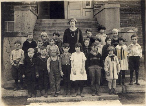 First Grade Class in Freedom, Indiana 1924-1925