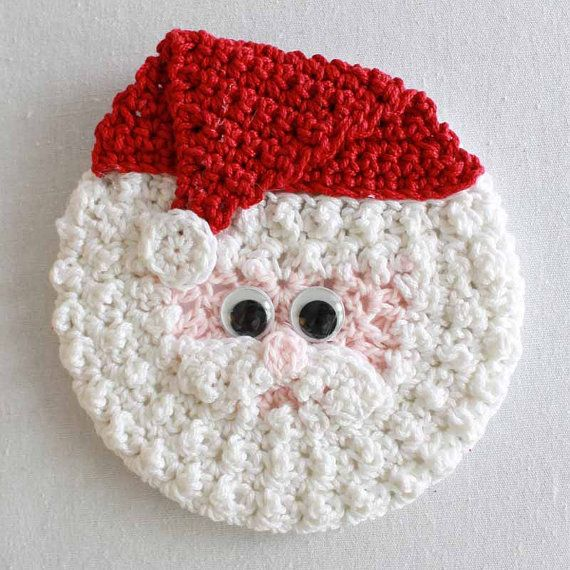 Holiday CD Coasters Crochet Pattern - PA 950 | coasters | Pinterest ...