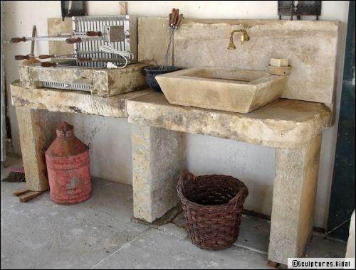 Aménager une cuisine d\u0027été conseils et idées Cuisine extérieure - Cuisine D Ete Exterieure En Pierre