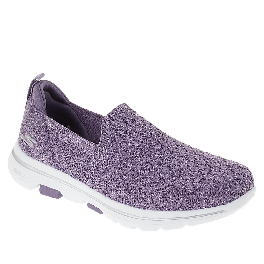 ladies purple skechers