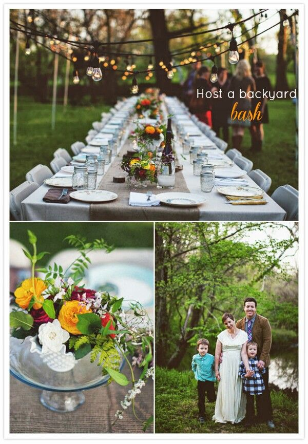 Backyard Rustic Theme