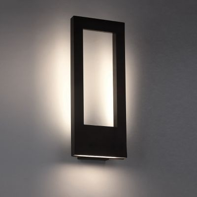 Twilight indoor outdoor led wall sconce wall sconces for Modern sconce light fixtures