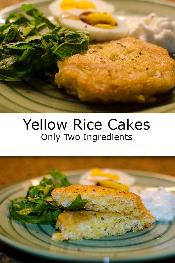 Yellow Rice Cakes