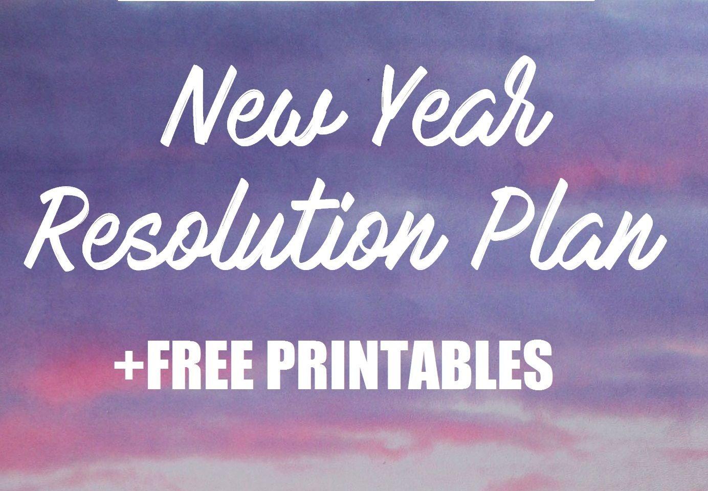 New Year Resolution Fitness Plan