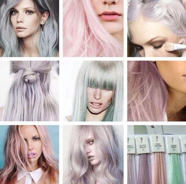 Pastel hair Hair Colour de8bc6b3a2
