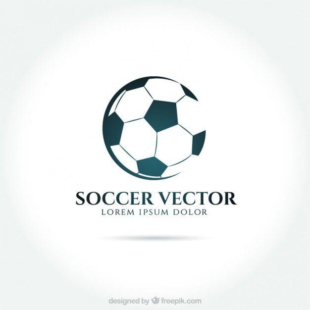 Soccer Logo Free Vector Freepik Freevector Logo Template Sport Football In 2020 Soccer Logo Team Logo Design Sports Team Logos