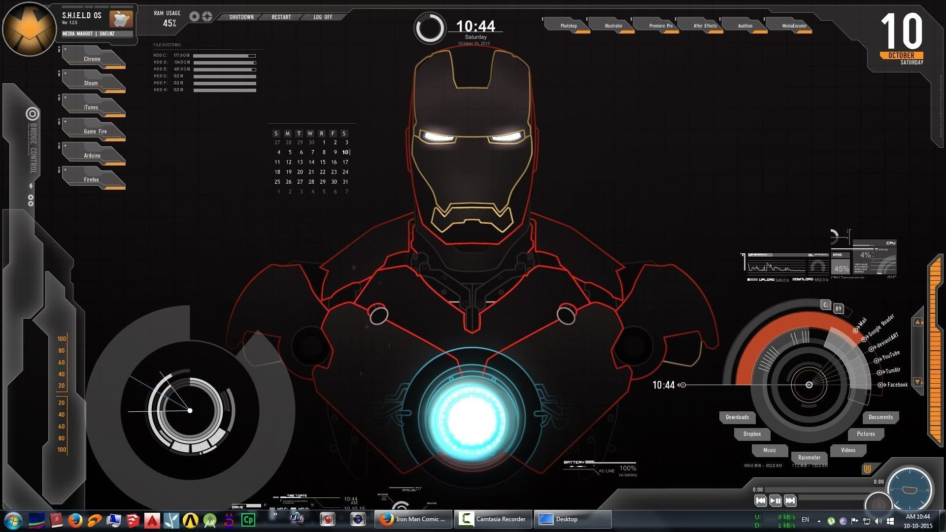 Jarvis Live Wallpaper For Pc Live Wallpapers Iron Man Wallpaper Iron Man