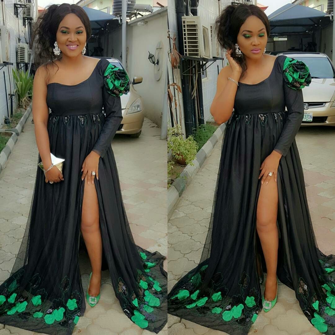 Mercy Aigbe Steps Out In Grand Style To Celebrate Her Birthday Today