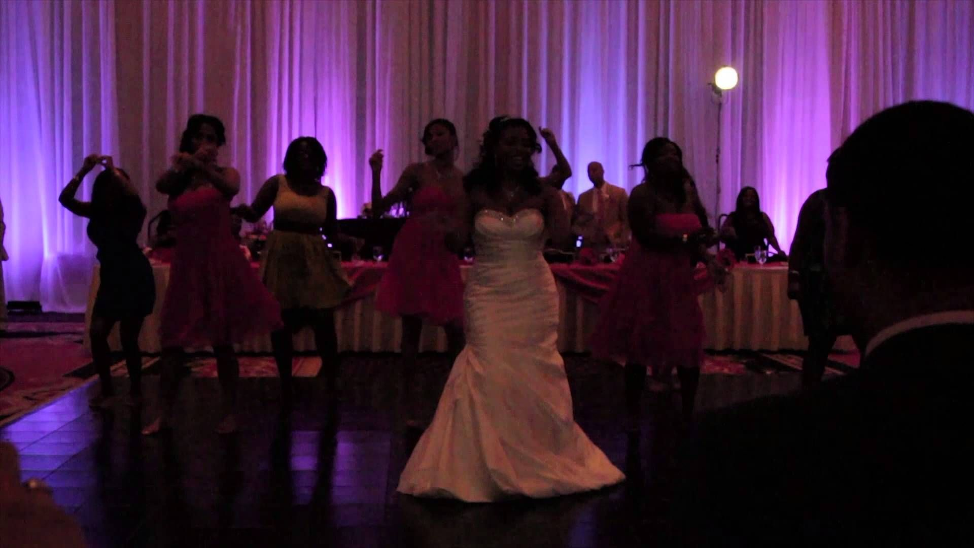 Love On Top Bride Reception Surprise Dance Wedding Dance At The