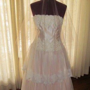 50″ Drop Wedding Veil | Shelby Ashley Bridal Fashions