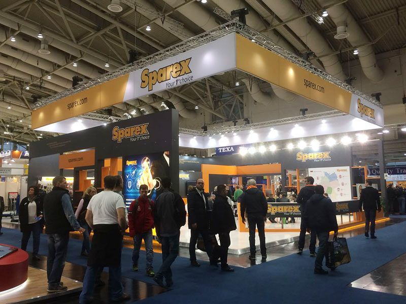 Our Recent Work in Agritechnica Hannover 2017 for Sparex