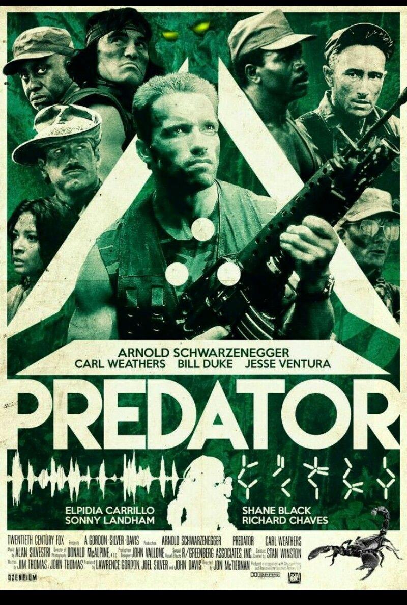 Predator 1 Cartazes De Filmes Predador E Cartaz