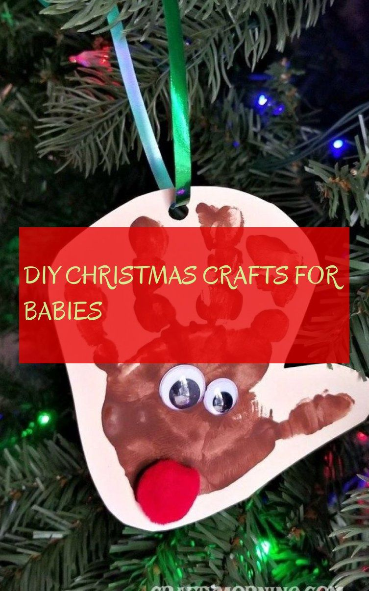 diy christmas crafts for babies