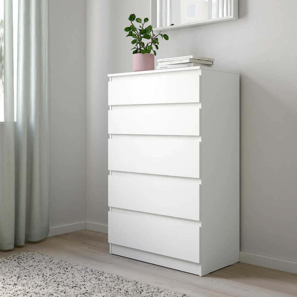 45 Ikea Width 70 Cmdepth 40 Cmheight 112 Cmdepth Of Drawer Inside 34 Cm White Bedroom Furniture Chest Of Drawers Decor Bedroom Chest Of Drawers