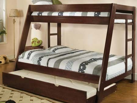 bunk bed sizes   shaped Full Size Bunk Bed Full Size Bunk Beds Ideas For Stylish ...