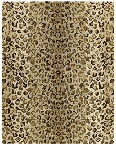 Handcrafted of luxurious virgin wool, this rug is masterpiece of detailing.  The intricate design and subtle background shading provide more and more detail the closer you look.
