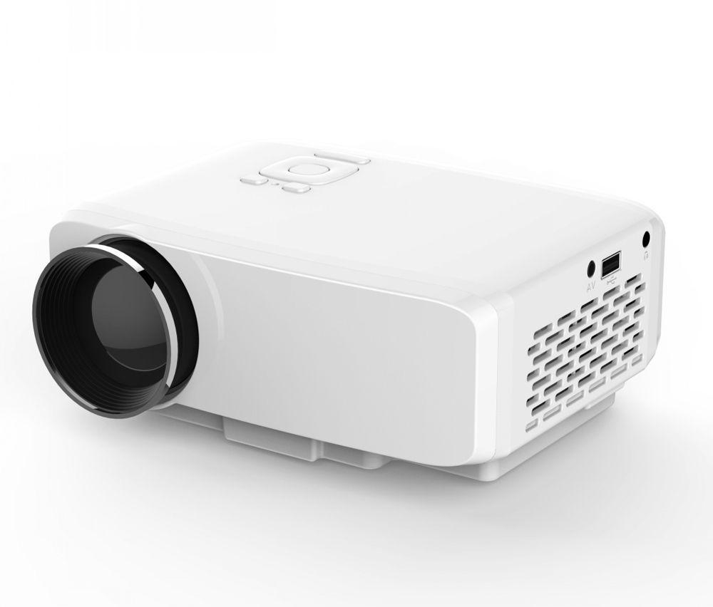 Heimkino LED MINI Beamer Projektor Videobeamer Full HD 1080P HDMI USB SD VGA AV