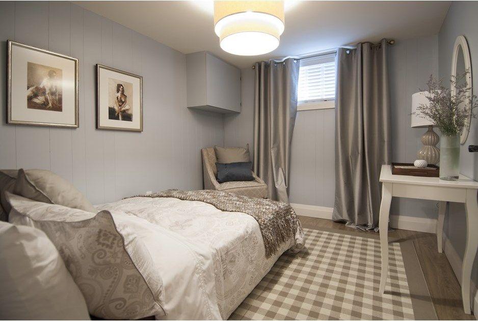 A Cozy Chic Basement Suite   Basement guest rooms, Bedroom ...